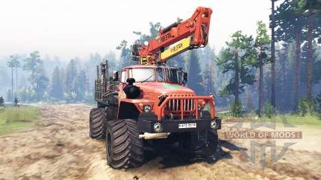 Ural-43206 v3.0 für Spin Tires