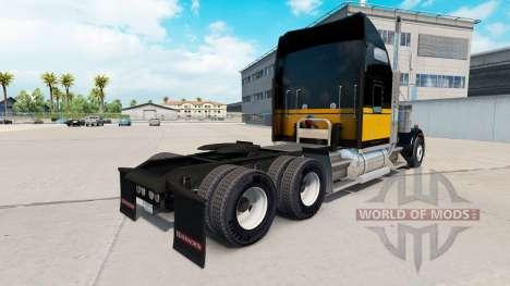 Haut Bandit-Stil auf der LKW-Kenworth W900 für American Truck Simulator