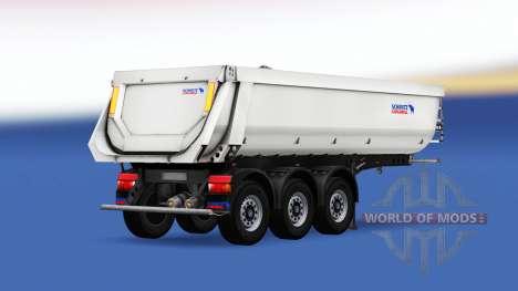 Semi-remorque benne Schmitz Cargobull pour American Truck Simulator