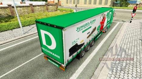 Deichmann skin for trailers für Euro Truck Simulator 2