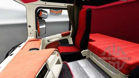 Interieur FC Augsburg für Scania für Euro Truck Simulator 2