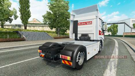 André Voss peau pour Iveco tracteur pour Euro Truck Simulator 2