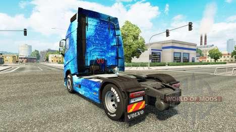 L'eau de la peau pour Volvo camion pour Euro Truck Simulator 2
