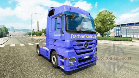 Skin Dachser Karlsruhe for tracteur Mercedes-Ben pour Euro Truck Simulator 2