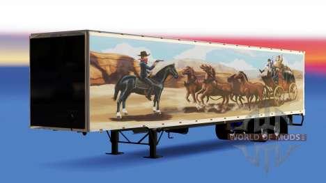 All-Metall-semi-trailer, Der Bandit für American Truck Simulator