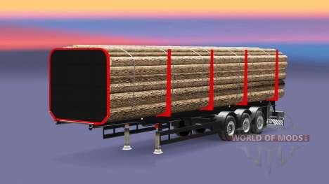 Semi-trailer truck für Euro Truck Simulator 2