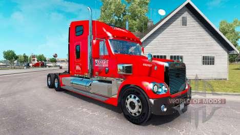 La peau de Chevaliers sur le tracteur Freightlin pour American Truck Simulator