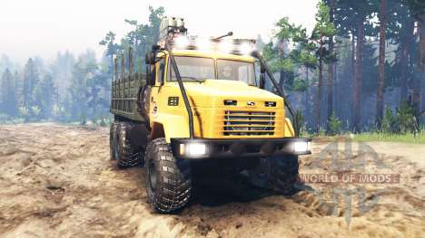 KrAZ-6322 UdSSR für Spin Tires
