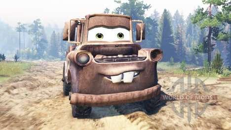 Mater für Spin Tires