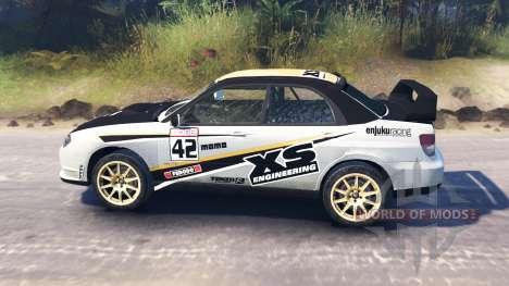 Subaru Impreza STi 2007 für Spin Tires