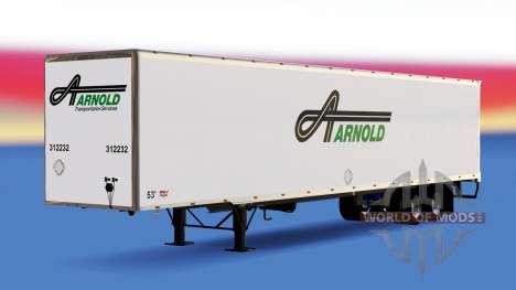 Tous métal-semi-remorque Arnold pour American Truck Simulator