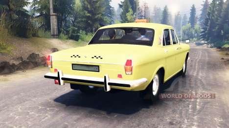 GAZ-24 Volga Taxi pour Spin Tires