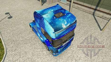Haut Wasser auf Scania Zugmaschine für Euro Truck Simulator 2