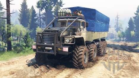 Ural-375 [mega] v2.0 für Spin Tires