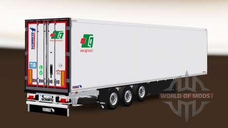 Semi-Trailer Schmitz Cargobull A. Griciaus für Euro Truck Simulator 2