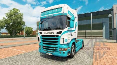 Kouhia Oy-skin für den Scania truck für Euro Truck Simulator 2