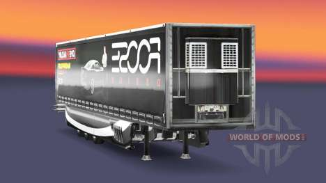 La peau FOOSE sur la remorque pour Euro Truck Simulator 2
