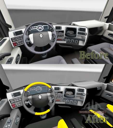 Obtenir FKD de la peau pour Renault camion pour Euro Truck Simulator 2