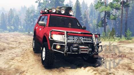 Mitsubishi Pajero 2006 pour Spin Tires