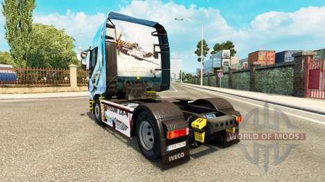 La peau North American P-51 Mustang sur le camio pour Euro Truck Simulator 2