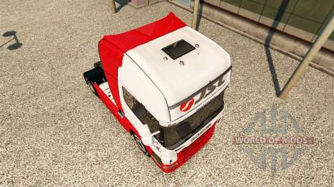 JSL de la peau pour Scania camion pour Euro Truck Simulator 2