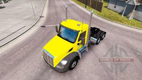 Haut-Sweet-Pete Day Cab auf die Peterbilt Zugmas für American Truck Simulator