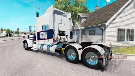 Haut Nationalgarde für den truck-Peterbilt 389 für American Truck Simulator