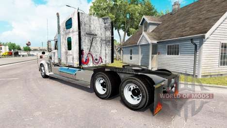 La peau Grunge Métal sur le camion Freightliner  pour American Truck Simulator
