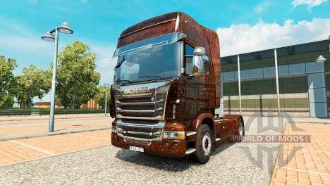 Ferrugem kommen aus Haut v2.0 LKW Scania für Euro Truck Simulator 2