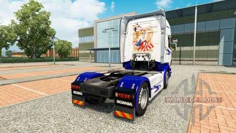 Le Rêve américain de la peau pour Scania camion pour Euro Truck Simulator 2