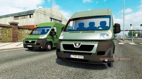 Peugeot Boxer für Verkehr für Euro Truck Simulator 2