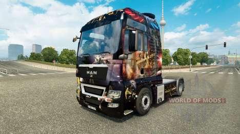 Star Wars skin für MAN-LKW für Euro Truck Simulator 2