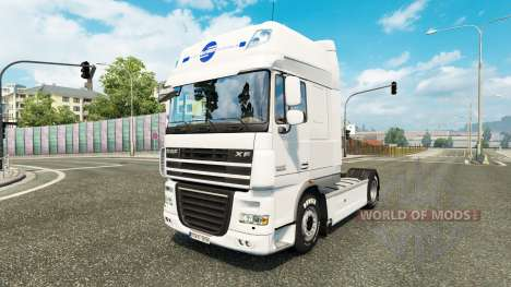 Schmidt Heilbronn skin for DAF truck für Euro Truck Simulator 2