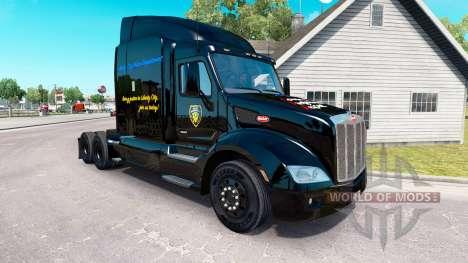 GFA-skin für den truck Peterbilt für American Truck Simulator