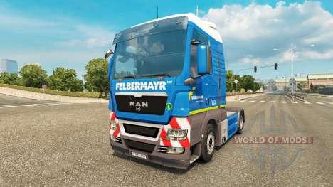 Felbermayr skin für MAN-LKW für Euro Truck Simulator 2