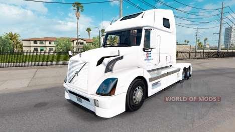 La peau Amérique du Nord pour les camions Volvo  pour American Truck Simulator