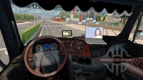 Tuning pour Mercedes-Benz Actros MP3 pour Euro Truck Simulator 2