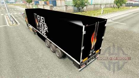 Une collection de peaux pour les remorques pour Euro Truck Simulator 2