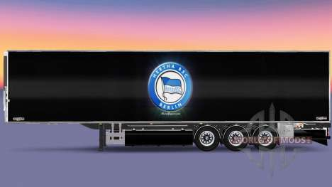 Auflieger Chereau Hertha BSC für Euro Truck Simulator 2