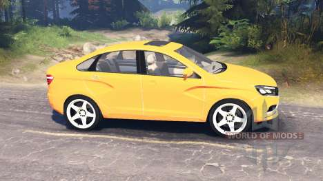 LADA Vesta (ВАЗ-2180) v2.0 pour Spin Tires