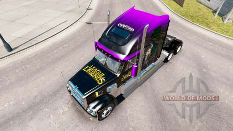 Скин League of Legends на Freightliner Coronado für American Truck Simulator