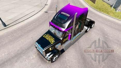 Скин League of Legends на Freightliner Coronado für American Truck Simulator