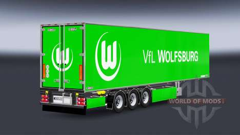 Semi-Trailer Chereau VfL Wolfsburg für Euro Truck Simulator 2