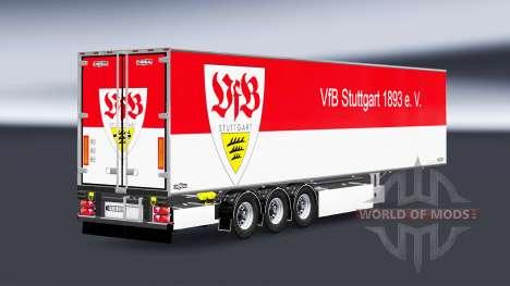 Semi-Trailer Chereau VfB Stuttgart für Euro Truck Simulator 2