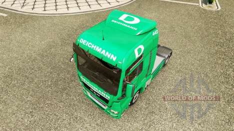 Skin Deichmann for tractor ON pour Euro Truck Simulator 2