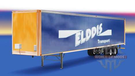 La peau Elddis de Transport sur semi-remorque pour American Truck Simulator