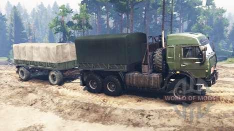 KamAZ-44108 [militaire] pour Spin Tires