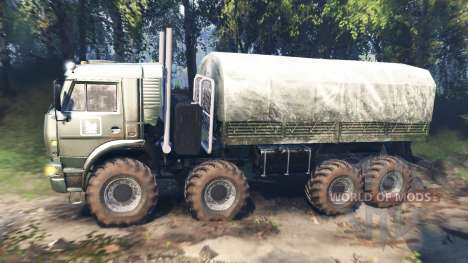 KamAZ-6560 [Mouromets] v3.0 pour Spin Tires
