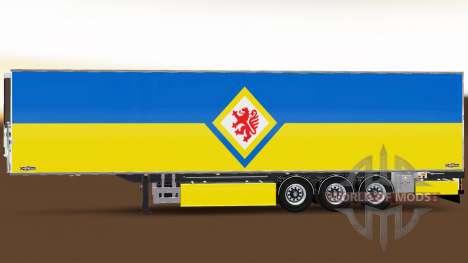 Semi-Trailer Chereau Eintracht Braunschweig für Euro Truck Simulator 2