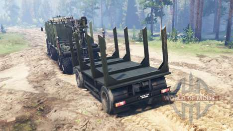 KamAZ-63501-996 Mustang pour Spin Tires